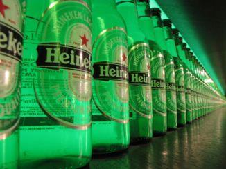 bilden föreställer Heineken Experience