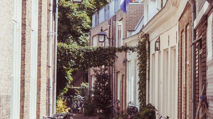 Bilden föreställer Haarlem i Amsterdam